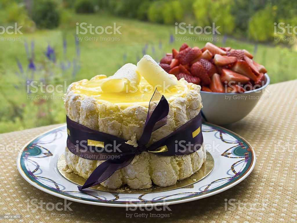 Summer dessert royalty-free stock photo