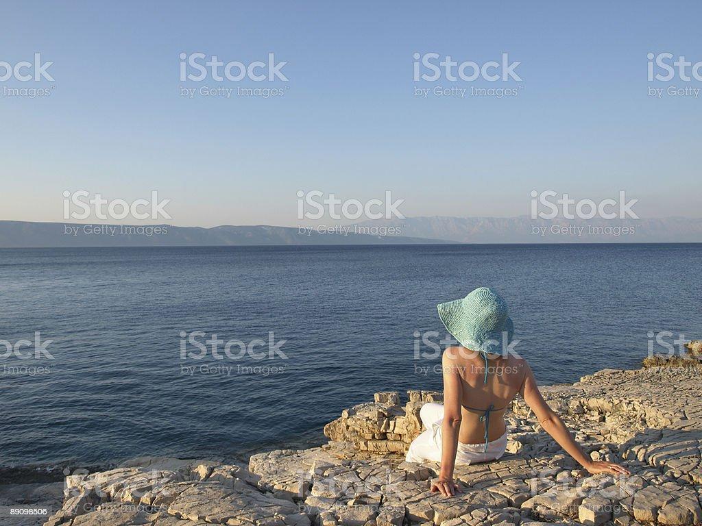 summer dreaming royalty-free stock photo