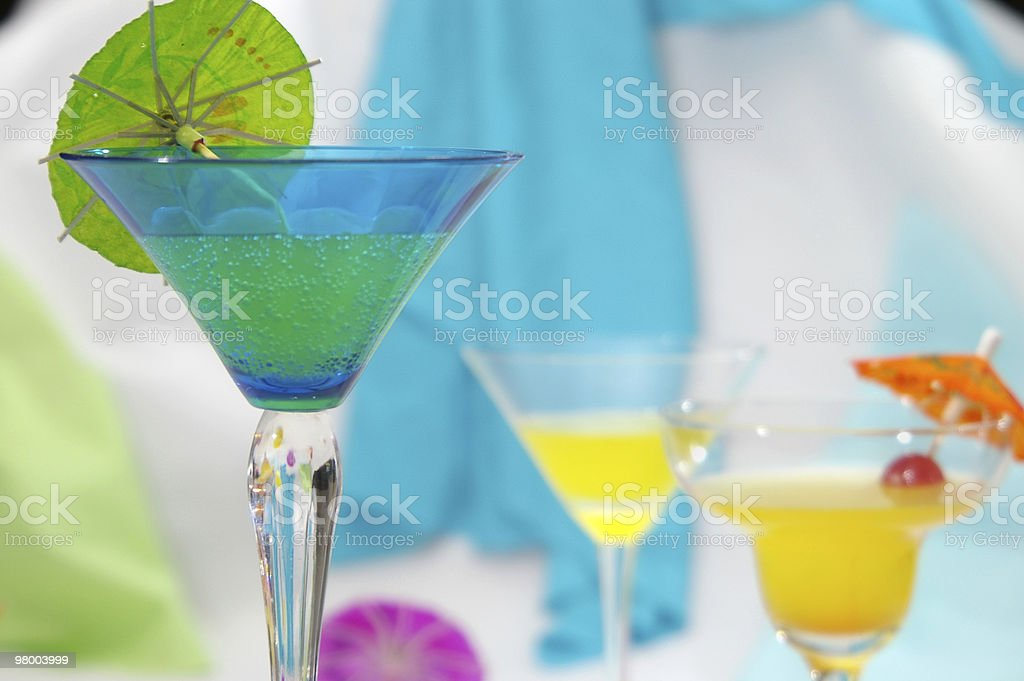 Summer Drinks royalty free stockfoto