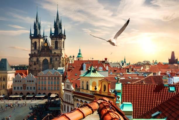 Sommerabend in Prag – Foto