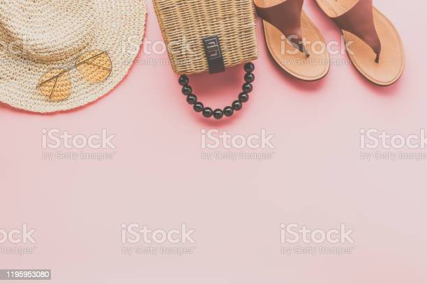 Summer fashion background on pink picture id1195953080?b=1&k=6&m=1195953080&s=612x612&h=zvofd0qwaw2polfm3sequgk4ka09j uho1yeeib897w=