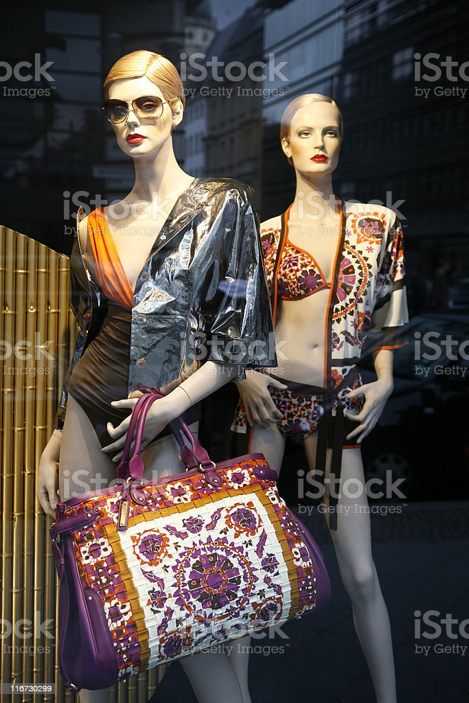 Summer fashion Berlin royalty-free stock photo