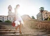 istock Summer Fashion, Spanish Steps 155402090
