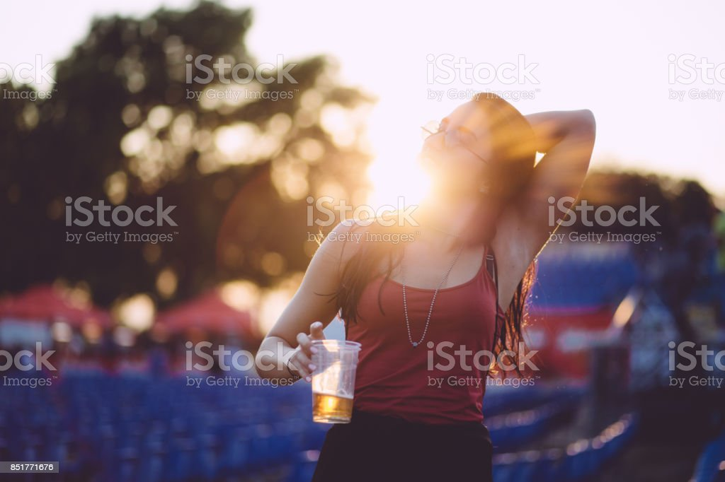 Summer Festival stock photo