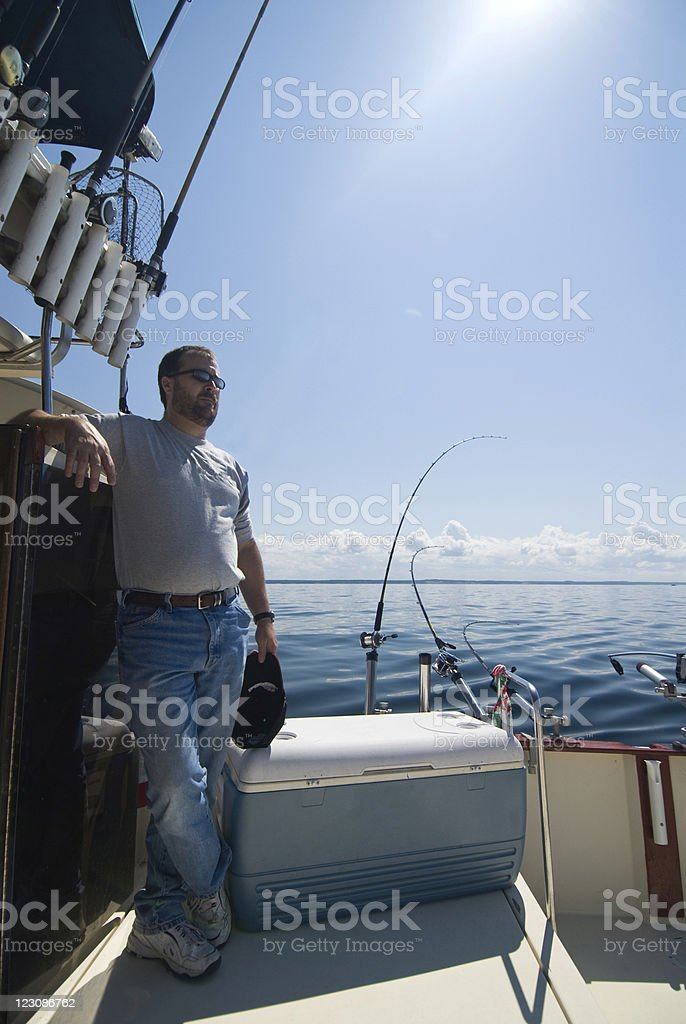 Summer Fishing royalty-free stock photo