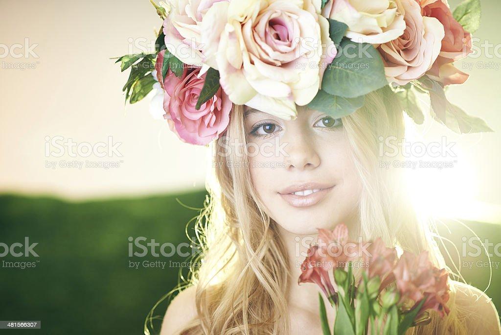 Summer flower beauty royalty-free stock photo