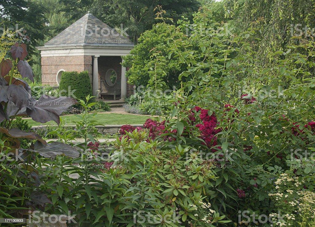 Summer Flower Garden stock photo
