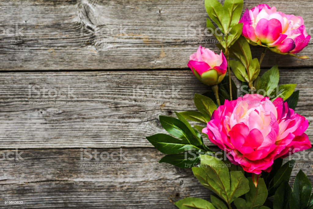 Summer Flowers Bouquet Background For Mothers Day Or For Womens Day ...