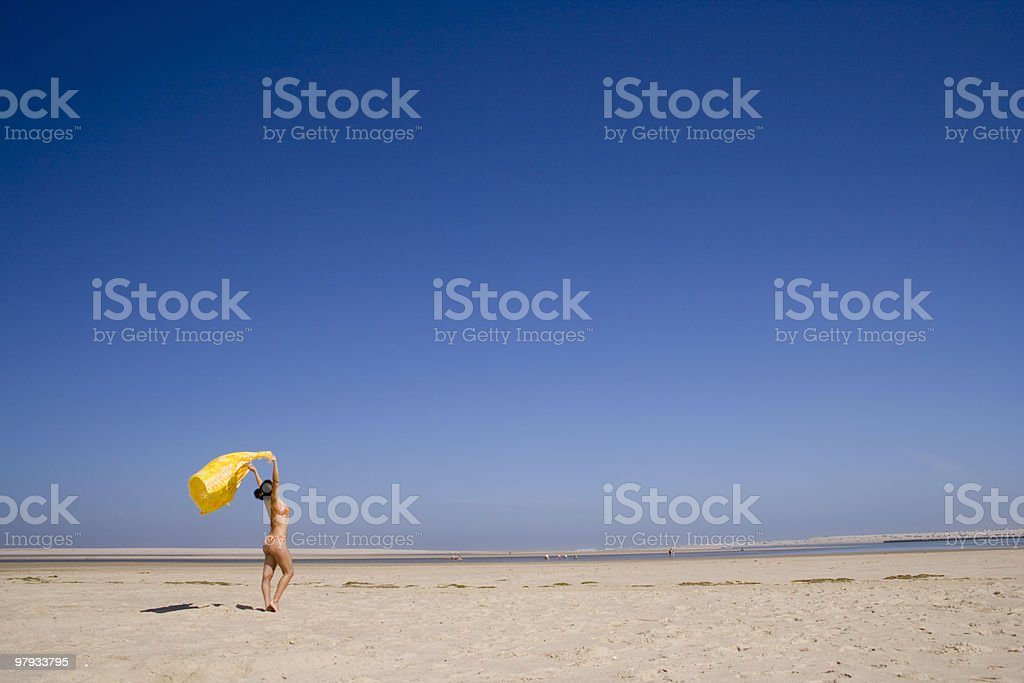 Summer freedom royalty-free stock photo