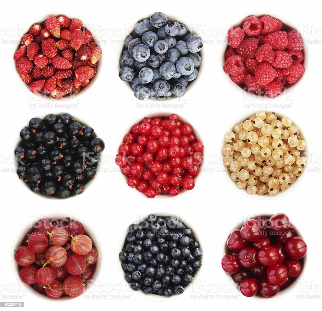 Summer fruit collection royalty-free stock photo