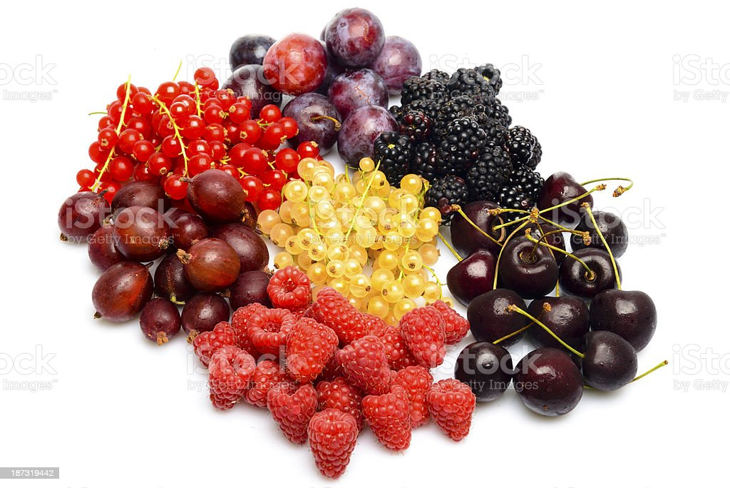Summer fruit royalty-free stock photo
