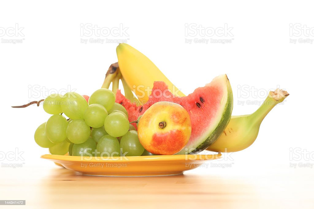 summer fruits royalty-free stock photo