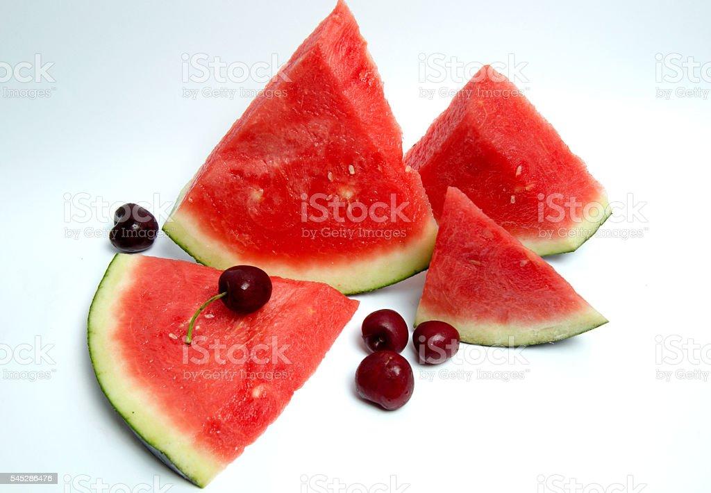 Summer fruits stock photo