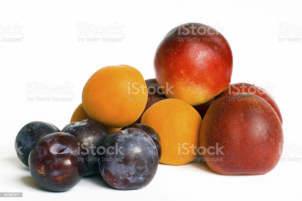 Summer fruits royalty-free stock photo