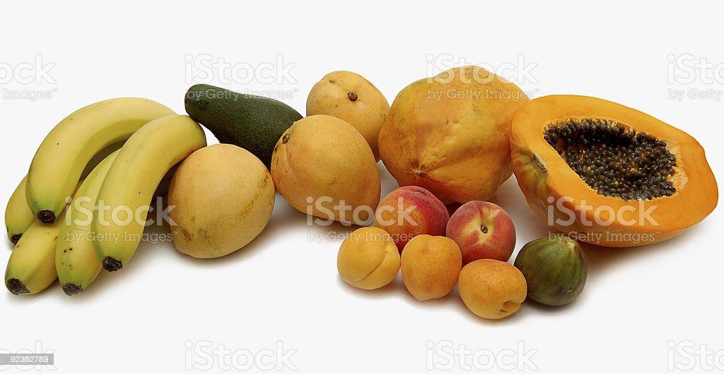 Sommer Früchte Lizenzfreies stock-foto