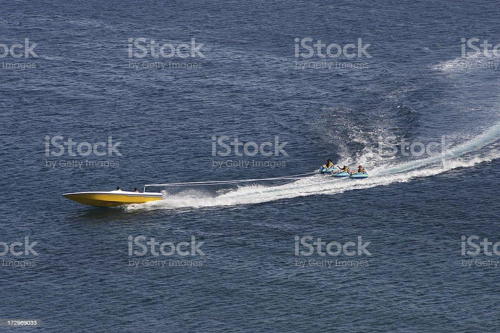 Summer Fun in Sea royalty-free stock photo