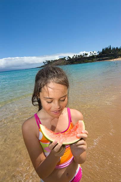 Young bikini girl