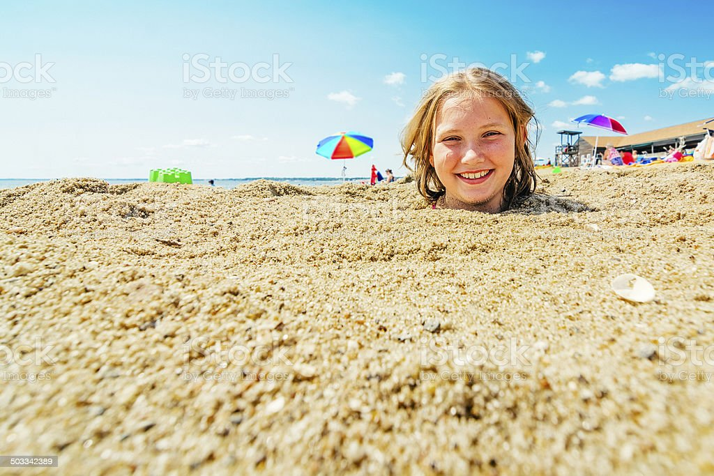 Summer fun stock photo