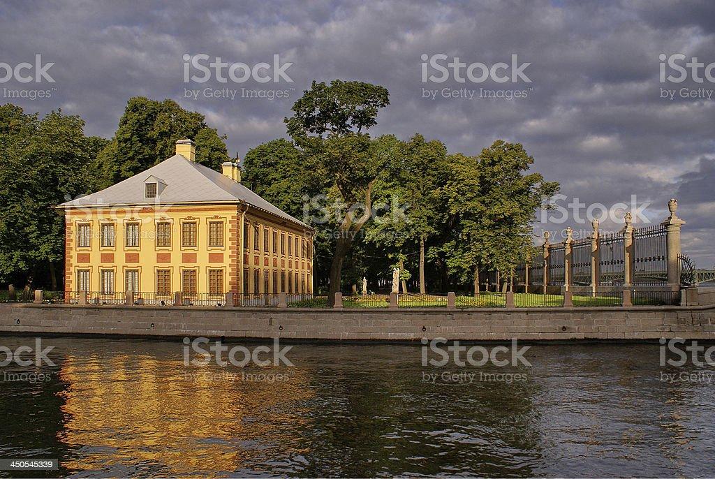 Summer Garden, St. Petersburg stock photo