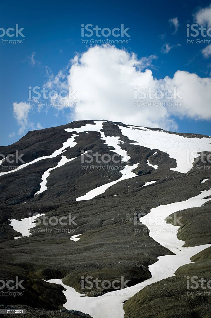 Summer Glacier royalty-free stock photo