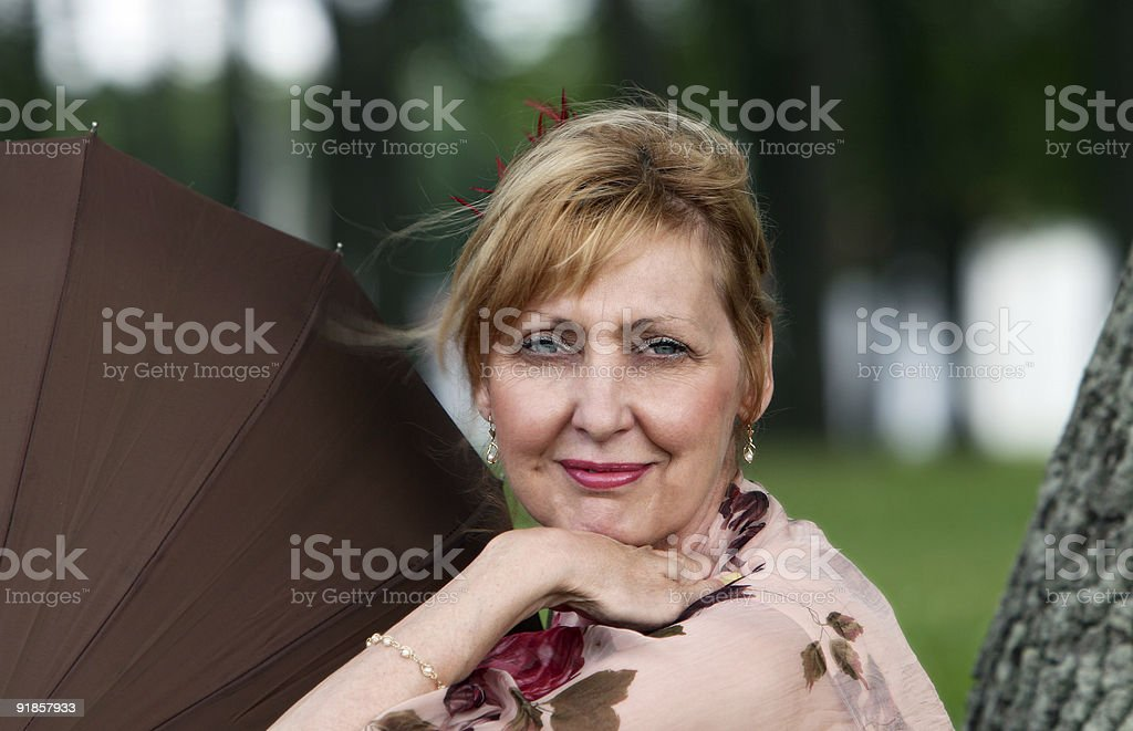 Summer happiness portrait royalty-free stock photo