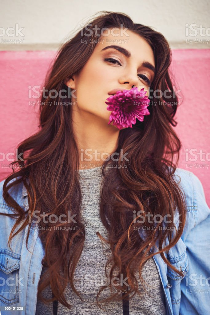 Summer has much to offer like beautiful flowers and fun royalty-free stock photo