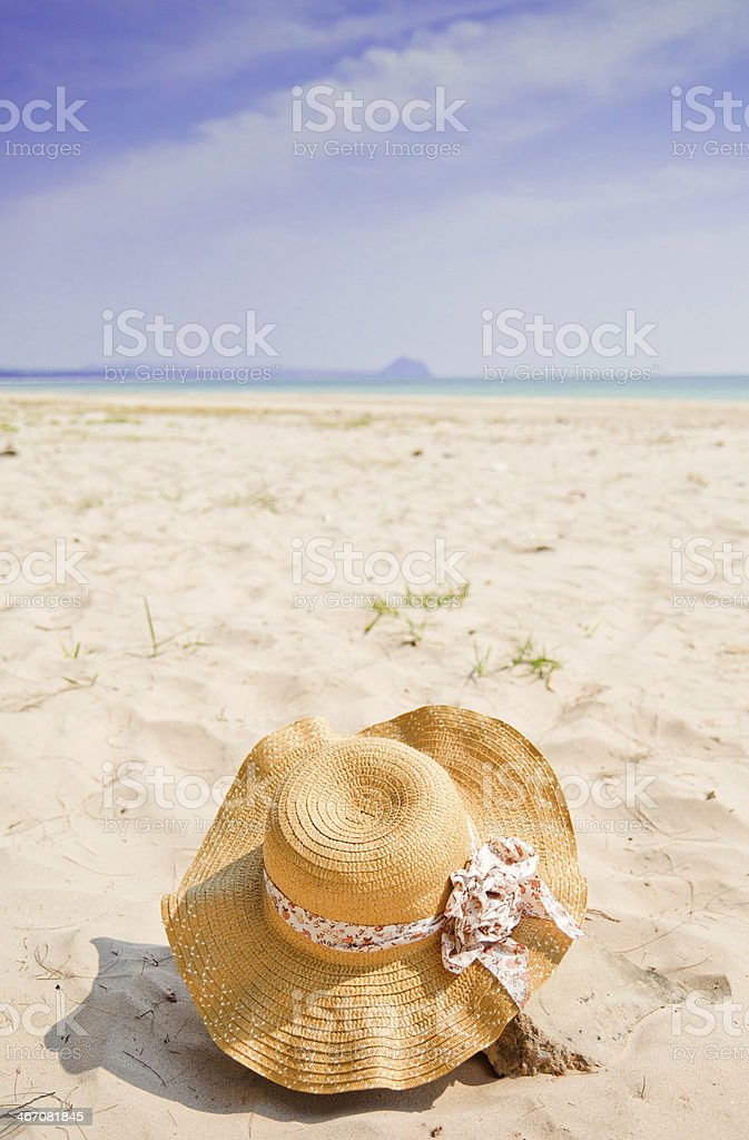 Summer Hat royalty-free stock photo
