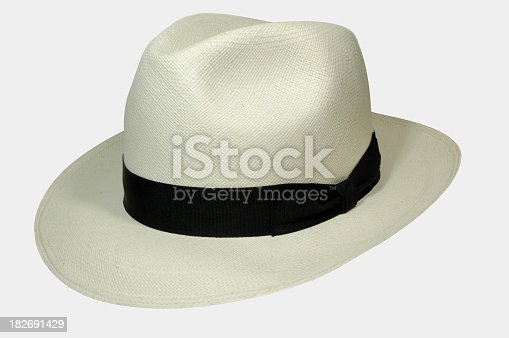Classic straw summer Hat.