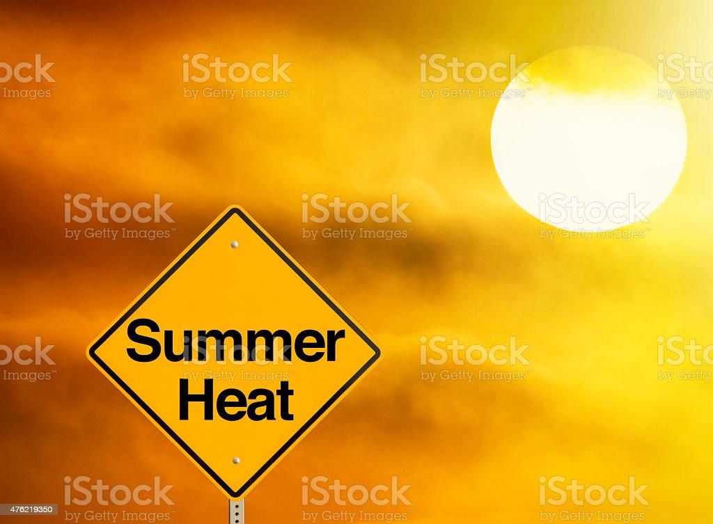 Summer Heat stock photo