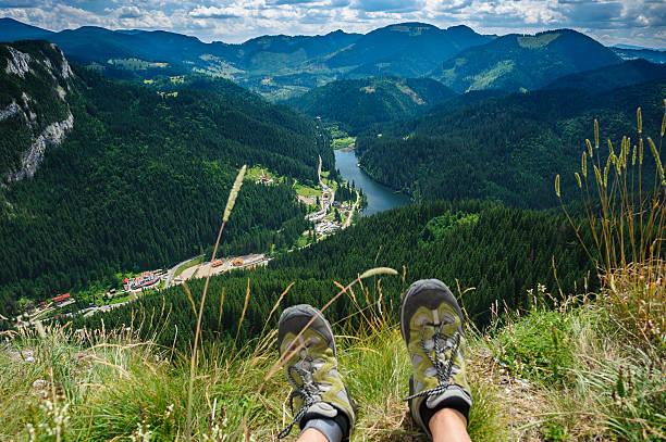 Sommer Wandern in die Berge – Foto