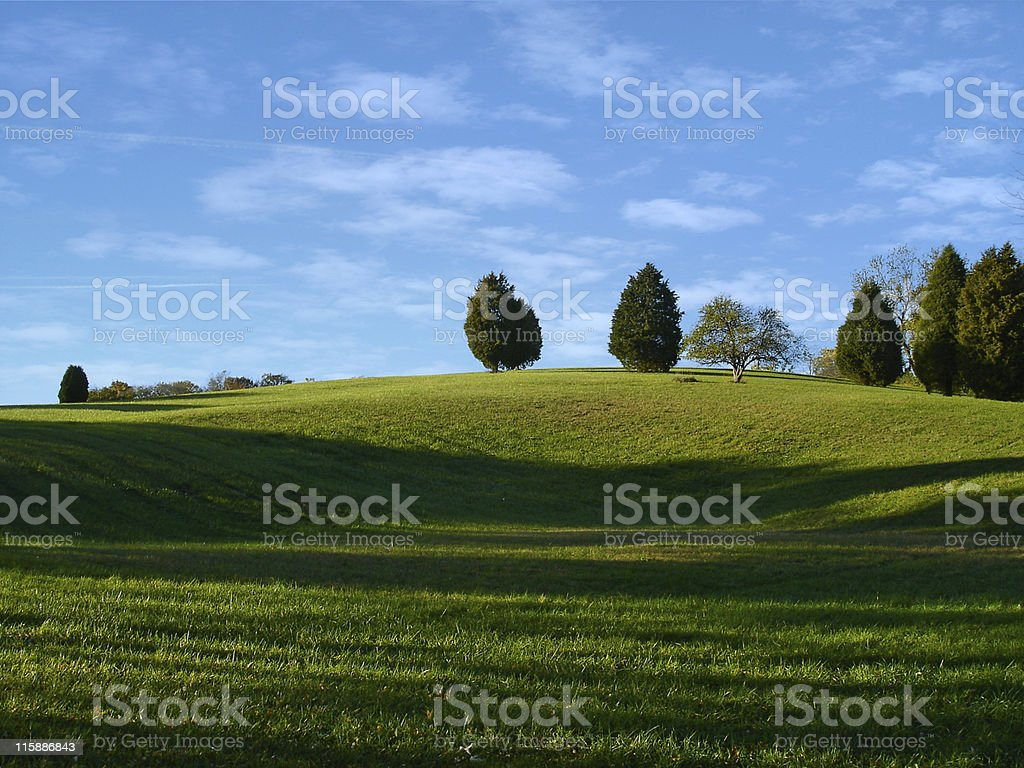 Summer Hill Scenic royalty-free stock photo