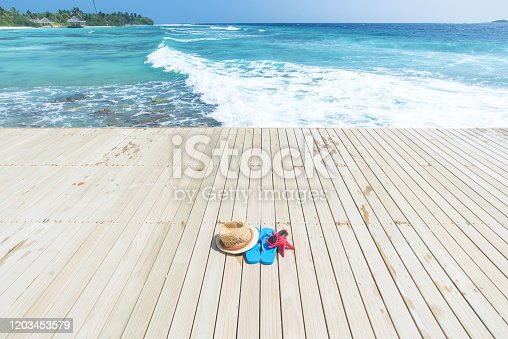 Summer holiday and vacation scene