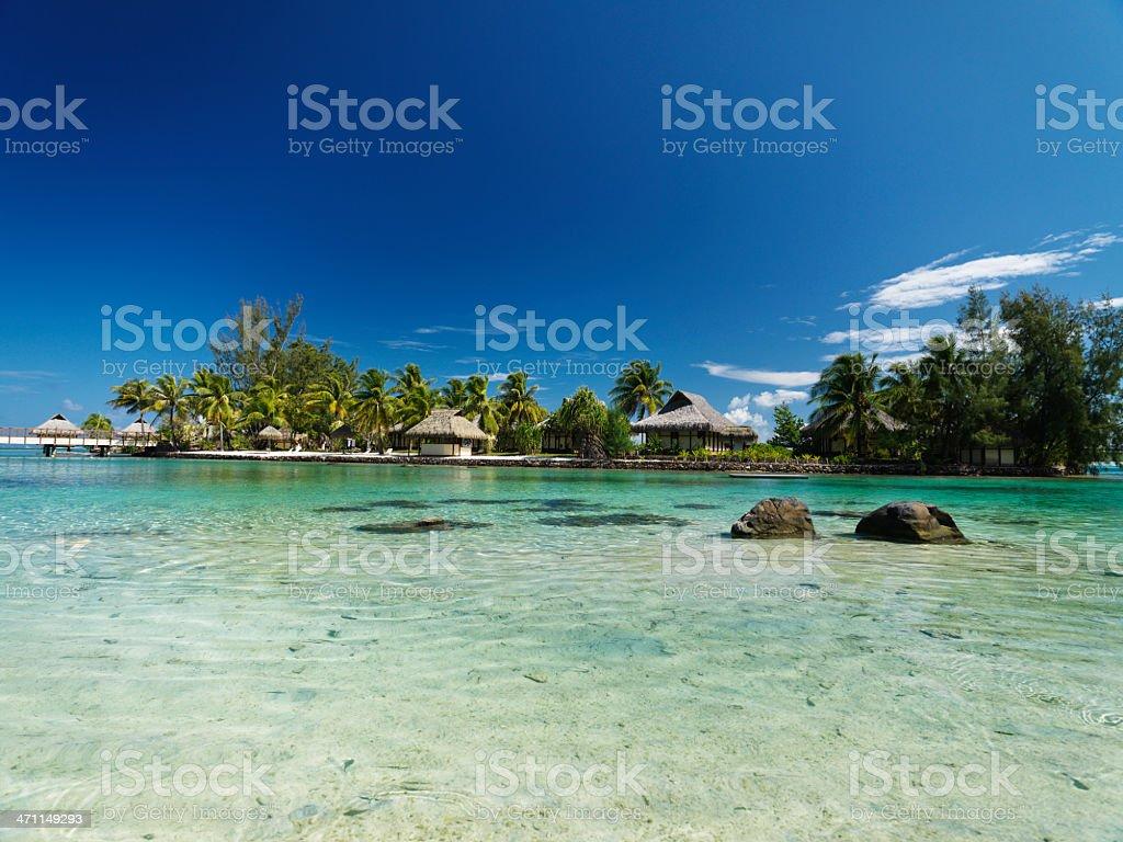 Summer Holiday Beach Paradise royalty-free stock photo