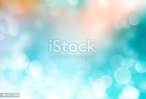 istock Summer holiday blue blurred background. 651671956