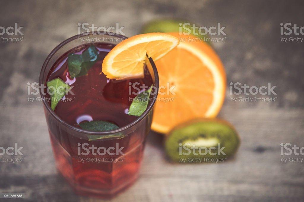 Copo de cocktail de férias de verão - Foto de stock de Bahamas royalty-free