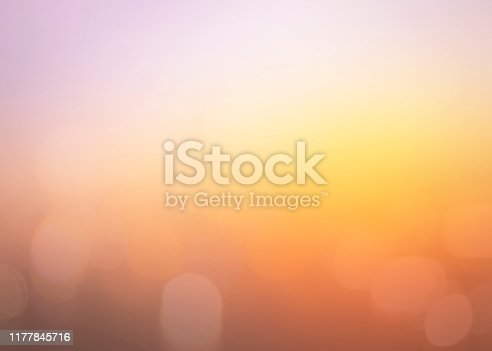 Abstract blurred sunrise background