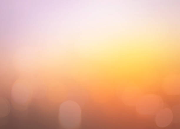Summer holiday concept Abstract blurred sunrise background land feature stock pictures, royalty-free photos & images