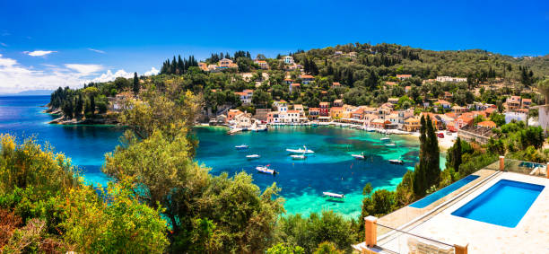 Summer holiday in greece picturesque loggos village in paxos island picture id820847600?b=1&k=6&m=820847600&s=612x612&w=0&h=npf v6r45krvc pq84nmoyb1uxze4lmrwsyr5uw8a1k=