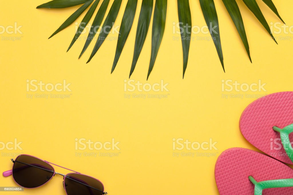 Summer Holiday Vacation Background stock photo