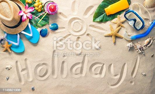 istock Summer holidays concept 1145621335