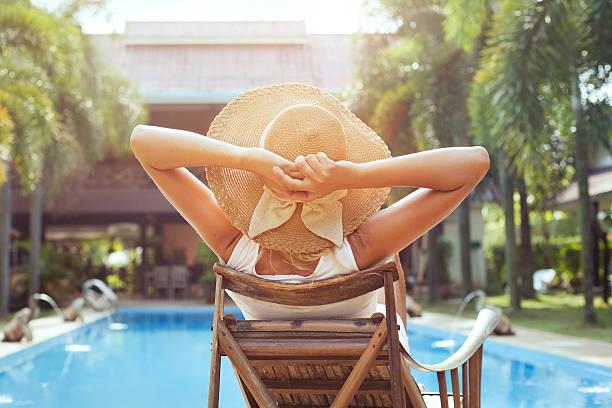 summer holidays stock photo
