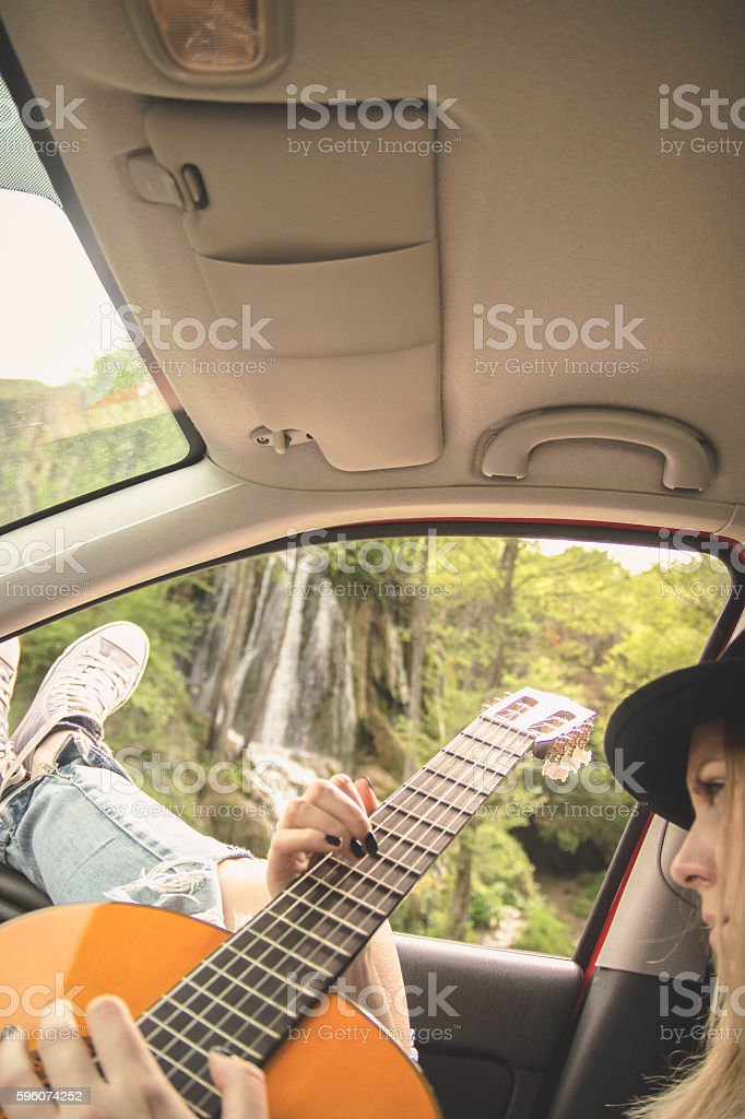 summer holidays, road trip, vacation, travel concept royalty-free stock photo