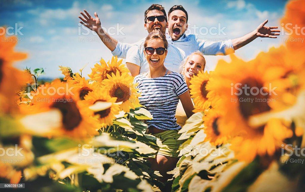 Summer hype. stock photo