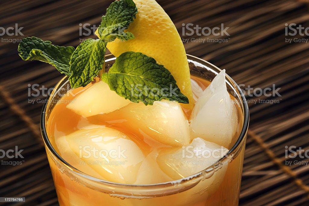Summer Ice Tea Hz royalty-free stock photo