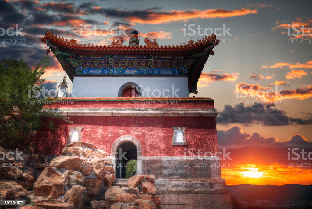Summer Imperial Palace on the outskirts of Beijing stock photo