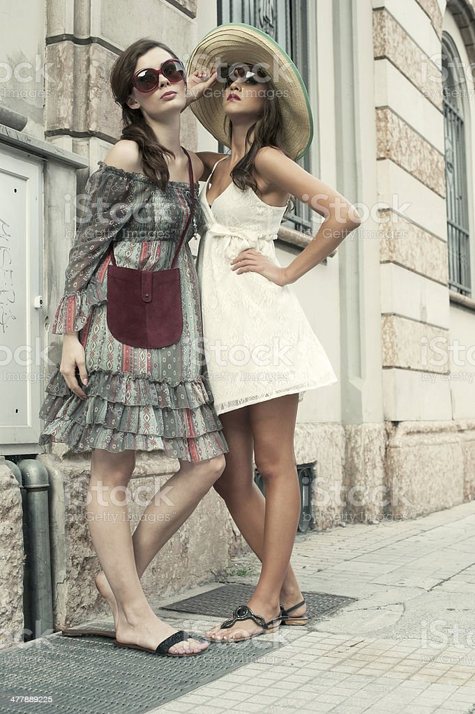Summer in a City royalty-free stock photo