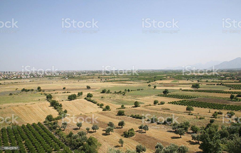 summer in antalya lands royalty-free stock photo