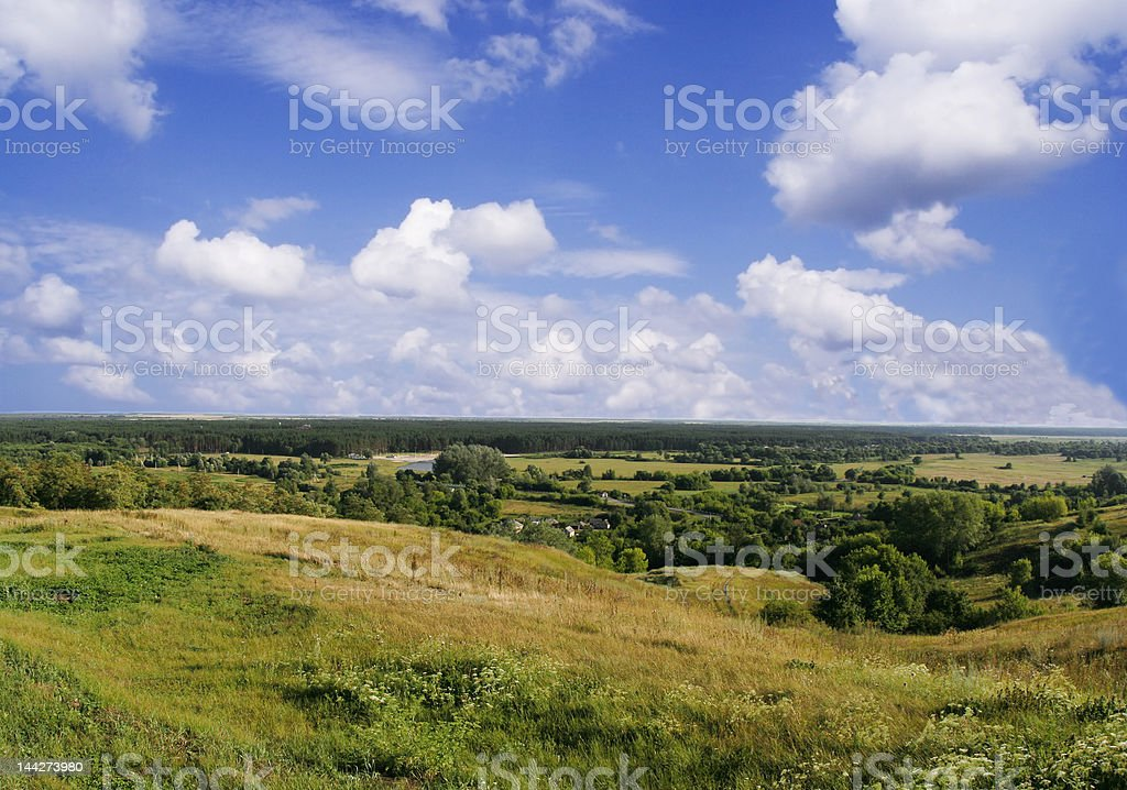 Summer in Belgorod (Russia) royalty-free stock photo