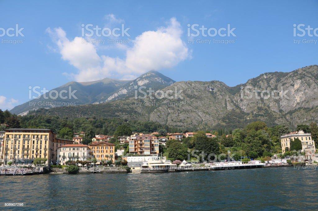 Summer in Cadenabbia at Lake Como, Lombardy Italy stock photo