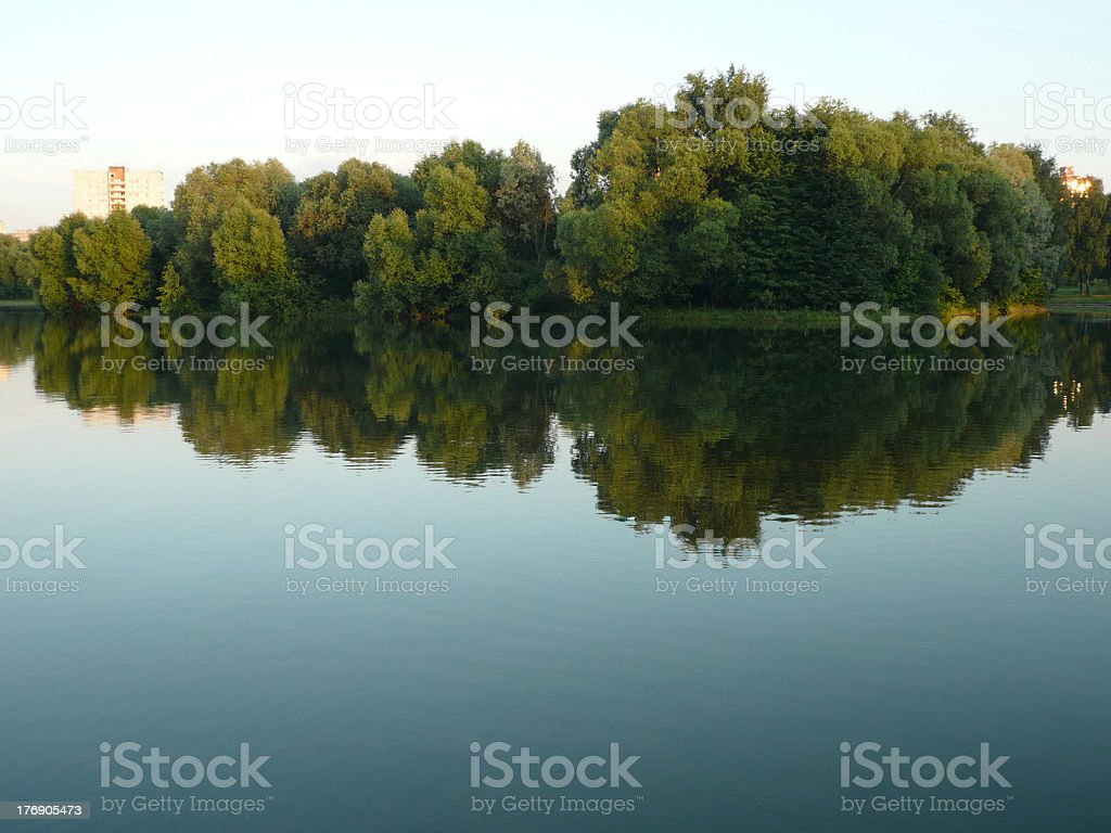 summer in city park royalty-free stock photo